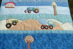 Traktoros ágytakaró