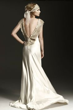 wedding dress and accessory designs by Johanna Johnson-