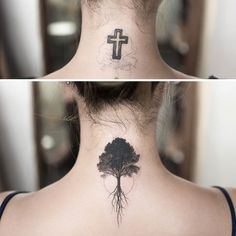 There is an amazing idea we have collected for your cover up tattoo design. Check the latest Cover Up Tattoos Design Now. Neck Tattoo Cover Up, Best Cover Up Tattoos, Cover Up Tattoos For Women, Back Of Neck Tattoo, Tattoo Neck, Wrist Tattoos For Women, Tattoo Women, Ankle Tattoo, Body Art Tattoos