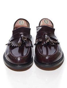 mod shoes loake brighton oxblood tassel loafer 02