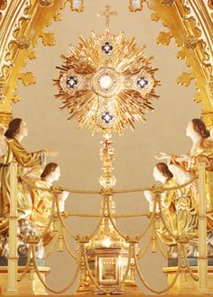 Our Lady of the Angels Monastery, Eucharistic Adoration Jesus!Soul and Divinity. Catholic Art, Catholic Saints, Roman Catholic, Religious Art, Religious Pictures, Jesus Pictures, Gif Pictures, Les Religions, Blessed Mother