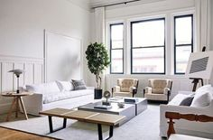 As the Director of Staging at rising-star design firm @ash_newyork Andrew Bowens job is to maximize the potential of every home the team designs. In staging scale is always extremely importantits something that we are very obsessed with and a lot of people dont pay enough attention to he tells AD going so far as to say that the size of a sofa or a rug matters to the inch. Bowen revealed five ways he ensures that a small home looks as comfortable as possible through the #linkinbio Photo by…