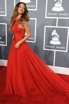 Rihanna en los Grammy