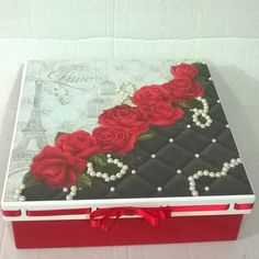 Decorated Boxes, Jewellery Boxes, Scrap, Crafts, Bags, Diy And Crafts, Decorative Boxes, Tea Box, Custom Crates