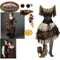 """Mrs lovett steampunk"" by hachi13 on Polyvore"