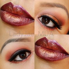 Makeup for fall fairy