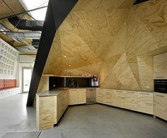 Fir plywood Kitchen