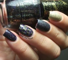 The Clockwise Nail Polish: OPI Alcatraz...Rocks & Jéssica Touch It