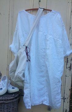 Simple Linen Dress MegbyDesign