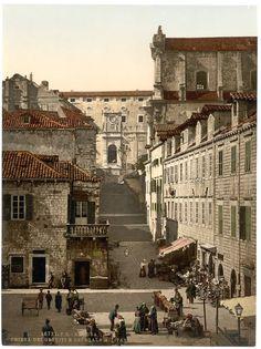 Zdjęcie z Chorwacji wykonane ponad 100 lat temu || #croatia #chorwacja #oldphoto #hrvatska || http://crolove.pl/category/historia-chorwacji/