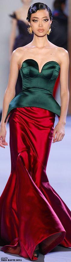 Ulyana Sergeenko Spring 2014 Couture www.wwd.com/...