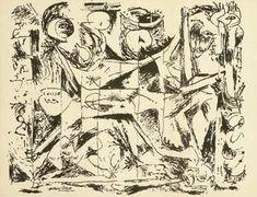 sin título 19 - (Jackson Pollock)