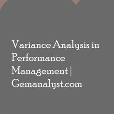 A variance is the difference between the expected standard cost and the actual cost incurred. Variance analysis is broken down into two parts; which are the usage and price variance of resources. Accounting Notes, Ashley I, Budgeting, The Unit, Reading, Factors, Fall, Autumn, Word Reading