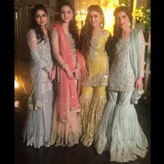 """1,045 Likes, 66 Comments - Sunday Times (@sundaytimes) on Instagram: """"Groom sisters looked amazingly stunning in #IVY @theivyofficial  10/10  #qawalinight…"""""""