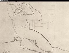 Amedeo Modigliani Seated Nude