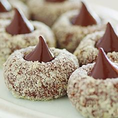 ...chocolate thumbprint cookies