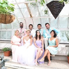 Read all about Montreal style blogger Lolitta Dandoy's #lechateau wedding. This wedding party is so hip it hurts. #lewedding #styledowntheaisle
