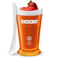 Oh yes, we love summer–slushies, smoothies–it just doesn't get any better! The Slush and Shake Maker in Green from Zoku for ages 13 yrs-adult. Slushies, Ice Cream Maker Reviews, Slushy Maker, Sumo Natural, Bowls, Tandoori Masala, Healthy Fruit Smoothies, Healthy Food, Smoothie Makers