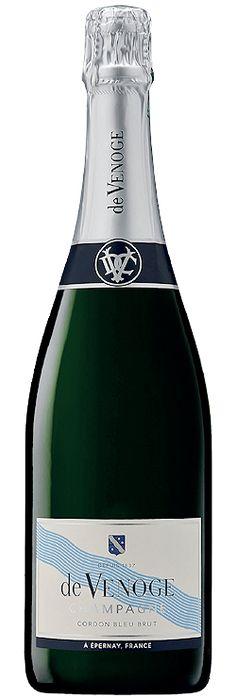 Découvrez ce produit : Champagne de Venoge Cordon Bleu Brut Sélect | Vin mousseux SAQ - 13449026