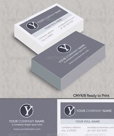 13 best business cards images on pinterest business cards carte modern ice business cards graphicriver business cards created for any business desiring a clean reheart Image collections