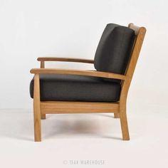 Teak Warehouse | Naples Teak Outdoor Club Chair