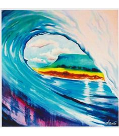 That Salty Feeling. Love Lanis Art - The Cat and the Moon Irish Jewelry, Surf Art, All Print, Oil On Canvas, Surfing, Fine Art, Feelings, Cats, Artwork