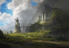Ventus Castle, Jordan Grimmer on ArtStation at https://www.artstation.com/artwork/RKqwy