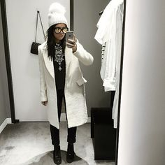 """""""Legitimately attempted to try on clothes with this many accessories on. #riskybusiness"""""""