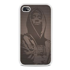 Tupac Sakur Art iPhone 4, 4s Case