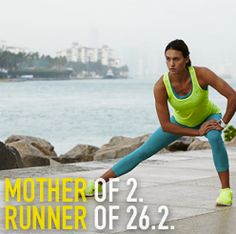 Mother of 2. Runner of 26.2. A part of the DICK'S Sporting Goods #STRONGMOM Contest.