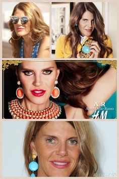 Anna Dello Russo is the editor-at-large and creative consultant for Vogue Japan. Dello Russo was born in Bari, and currently resides in Milan.