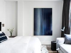 Russian Hill Pied-Á-Terre | Interior Design - San Francisco - Bedroom #NICOLEHOLLIS Photo by Laure Joliet