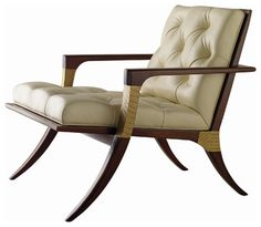 Athens Lounge Chair - Tufted - Baker Furniture - modern - chairs - Baker Furniture