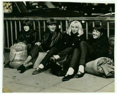 Girls at Rolling Stones gig 1965