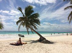 Mexiko - Tulum Playa Paraiso - hier kommen Geri Erinnerungen von 2008 auf, als er schon mal hier war. Damals noch weniger Hotels und Touristen...
