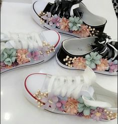 Cute Baby Shoes, Baby Girl Shoes, Girls Shoes, Custom Design Shoes, Custom Shoes, Shoe Makeover, Fashion Shoes, Fashion Accessories, Première Communion