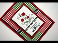 Cheerful Days of Summer Card Project Gina K