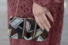Aldo velvet beaded clutch styling it bohemian lace dress – MODE DELINA