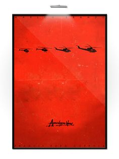 Apocalypse Now Minimalist Movie Poster by Federico Mauro, via Flickr
