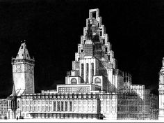 One of the pioneers of modern Czech architecture, Josef Gočár carried out significant projects in Prague, Pardubice and Hradec Prague Architecture, Classic Architecture, Historical Architecture, Prague Astronomical Clock, Old Town Square, Old Building, Retro Futurism, Empire State Building, Past