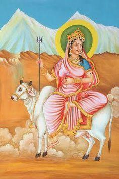 श्री राणी सती दादी: दुर्गा पूजा के प्रथम दिन माता शैलपुत्री की पूजा-वं...
