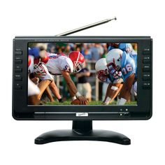 """Supersonic 9"""" Portable Rechargeable Digital LCD TV"""