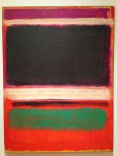 Mark Rothko. MoMa NYC. December, 2013.