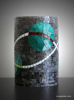 mosaic candle lamps- Eva Geisler | Eva Geisler