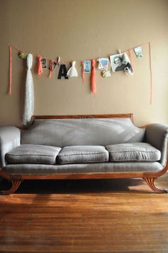 Boho bunting from Wednesday. - this is so what we need over our couch @Danielle Perkins @Elisabeth Booze