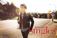 박재범 Singles, 2012년 12월 (Jay Park in Singles, December 2012)