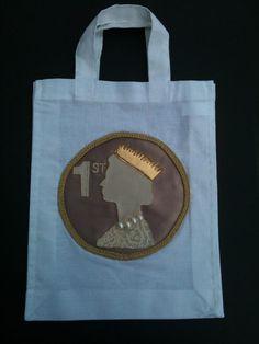 1st Class Stamp Bag by Kaniez Abdi www.kaniezabdi.com