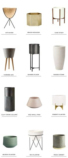 12 perfect planters | smitten studio | Bloglovin'