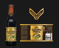 Design de rótulo - Bier Hoff Cocada Preta