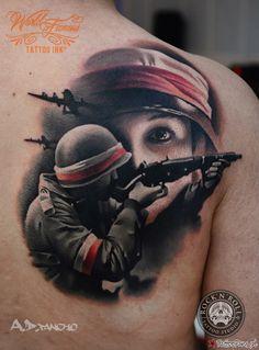Polska Walcząca Tattoo By Alex Pancho